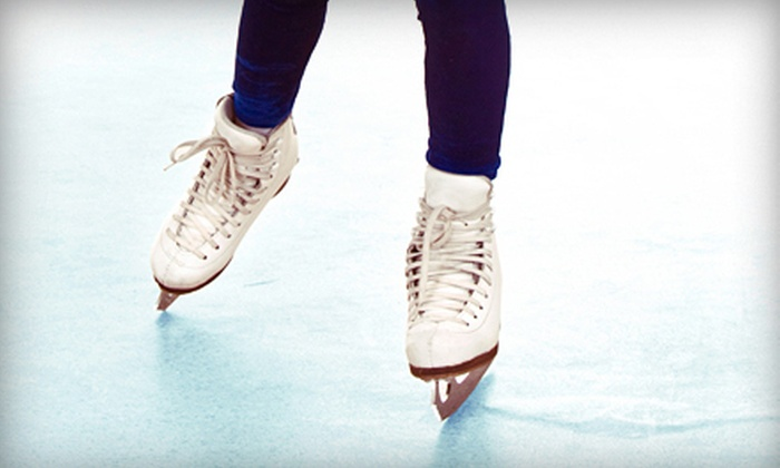 Iceoplex - Simi Valley: Ice-Skating Session with Skate Rentals for Two or Four at Iceoplex (Up to 56% Off)