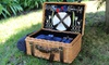 Willow Picnic Basket for Two: Willow Picnic Basket for Two