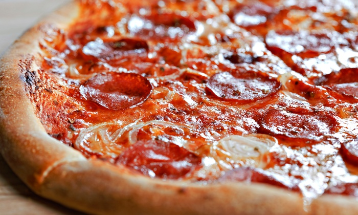 Triple Seven Pizzeria - Saratoga: Pizza for Two or Four at Triple Seven Pizzeria (Up to 50% Off). Four Options Available.