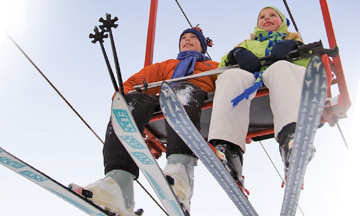 Christmas Mountain Village - Wisconsin Dells: Skiing for Two or Four with Optional Grill Food at Christmas Mountain Village (Up to 50% Off)