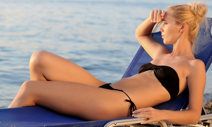 Tropical Beaches Tanning Salon - Kelowna: One or Three Spray Tans at Tropical Beaches Tanning Salon (Up to 55% Off)