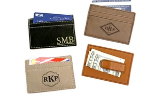 Personalized Money Clip from Monogram Online
