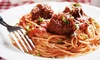 Angolo Italiano - Kingsburg: Italian Cuisine and Drinks at Angolo Italiano (Up to Half Off). Two Options Available.