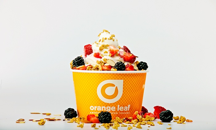 Orange Leaf Coppell - Valley Ranch - Coppell: One or Three Groupons, Each Good for $10 Worth of Fro-Yo at Orange Leaf (40% Off)