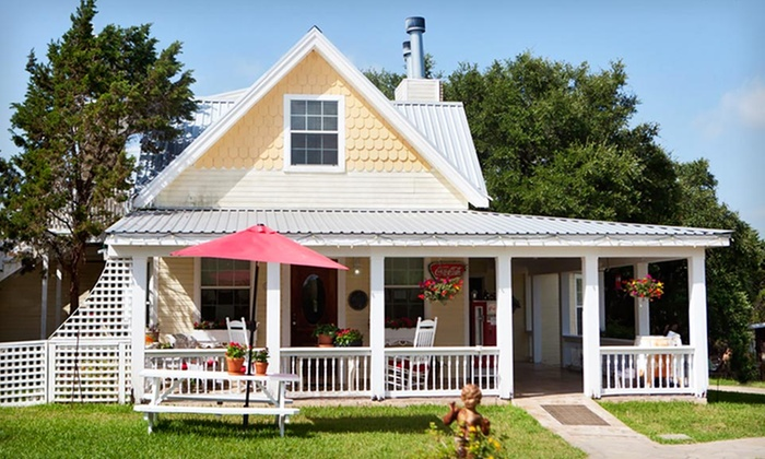 Serenity Farmhouse Inn - Wimberley, TX: 2- or 3-Night Stay with Breakfast, Vineyard Tours, and Wine at Serenity Farmhouse Inn in Texas Hill Country