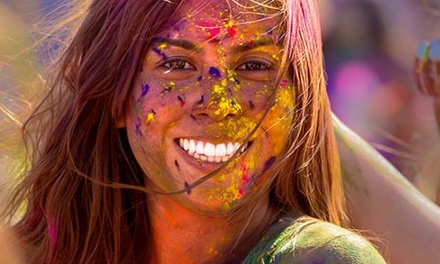 Entry for One to Holi Color Festival on Saturday, July 11, with Optional Campsite Reservation (Up to 80%Off)