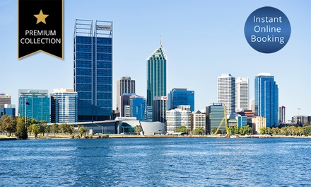 Perth, CBD: 1Night Getaway for Two People with Breakfast, Late CheckOut and Bottle of Wine at Mystery Hotel