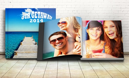 Personalized Photo Book from Printerpix (Up to 64% Off). Three Options Available.
