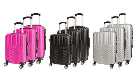 Set 3 valises rigides 8 roues Nevada