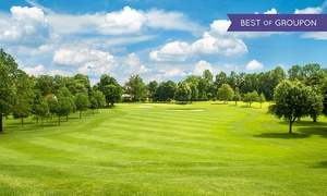 Golf for Two or Four with Cart Rental and Large Buckets of Range Balls at Indian Trail Golf Course (59% Off)