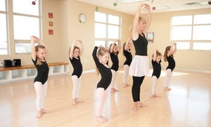 On My Toes Dance Academy: Five or Ten One-Hour Children's Dance Lessons at On My Toes Dance Academy (Up to 79% Off)