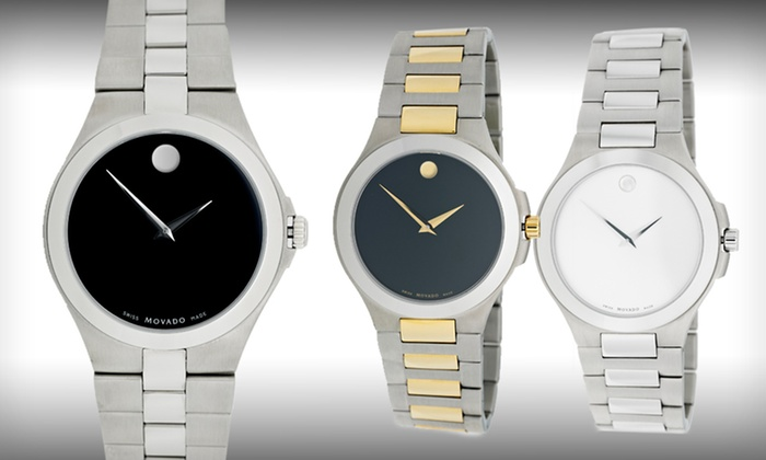 Movado Men's and Women's Watches: Movado Men's and Women's Watches (Up to 52% Off). Eleven Styles Available. Free Shipping and Free Returns.