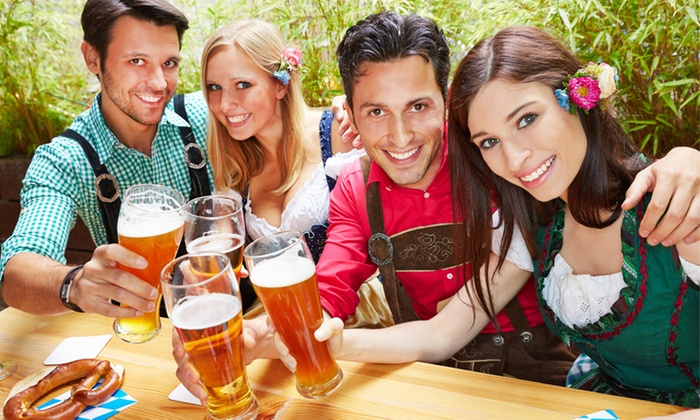 Old Town Oktoberfest - Old Town: $25 for Two-Day German Festival with Beer Mugs and Food and Drinks for Two at Old Town Oktoberfest (Up to $40 Value)