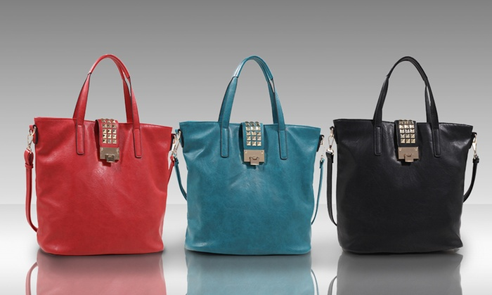 Luna Moon Sarah Tote: Luna Moon Sarah Tote. Multiple Colors Available. Free Shipping and Returns.