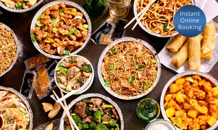 5Course Chinese Banquet with Wine $59 or 4 $118 People at Beijing Palace Up to $260 Value