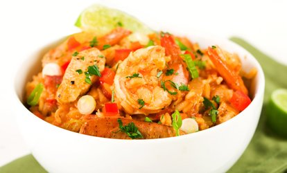 image for Cajun Cuisine at Nora Lees French Quarter Bistro (Up to 45% Off). Four Options Available.