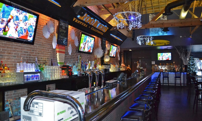 Rookees Sports Bar - San Buenaventura (Ventura): $15 for $25 Worth of Food and Beverages at Rookees Sports Bar