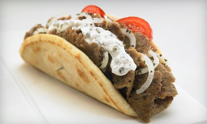 Pita's Republic - Multiple Locations: $7 for $14 Worth of Mediterranean Cuisine at Pita's Republic