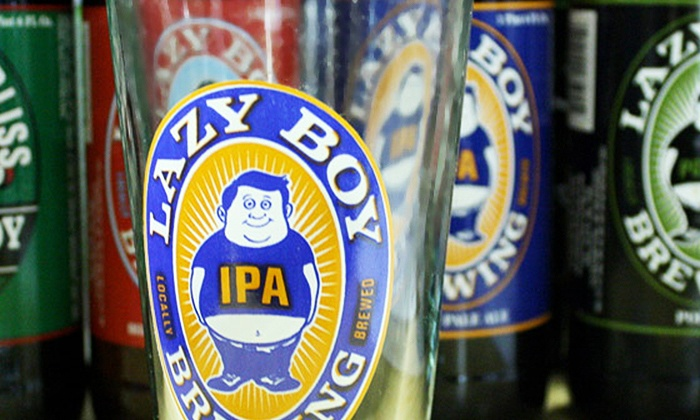 Lazy Boy Brewing - Lazy Boy Brewing: Shared Tasting for Two or Four with Take Home Growlers at Lazy Boy Brewing (Up to 53% Off)