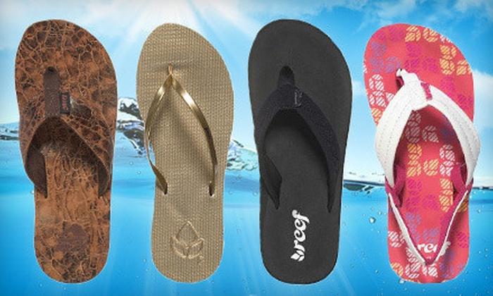 Flip Flop Shops - Sun Terrace: $12 for $24 Worth of Flip-Flops and Footwear at Flip Flop Shops