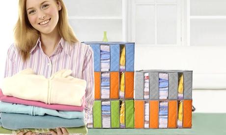 Organizador de ropa de armario