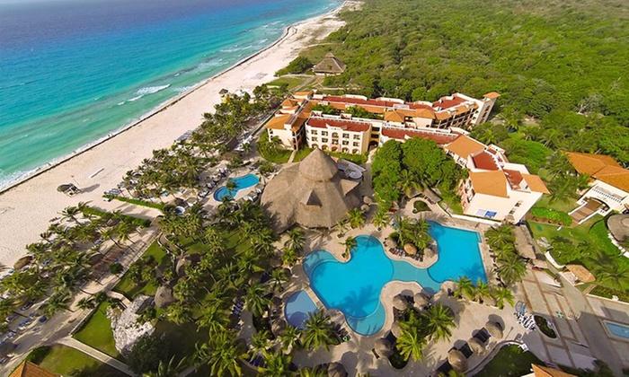 Sandos Playacar Beach Resort Stay With
