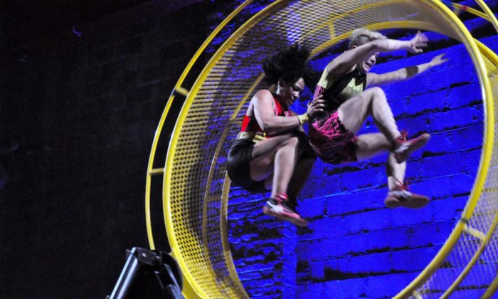 "STREB: ""Forces"" - Williamsburg: One Ticket to STREB: ""Forces"" at Streb Lab for Action Mechanics on November 21–December 21 (Up to 33% Off)"