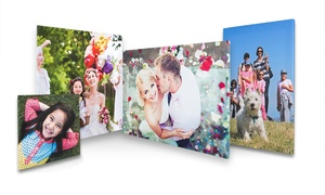 First for Photo: Choice of Personalised Photo Canvas Print from First for Photo (Up to 76% Off)