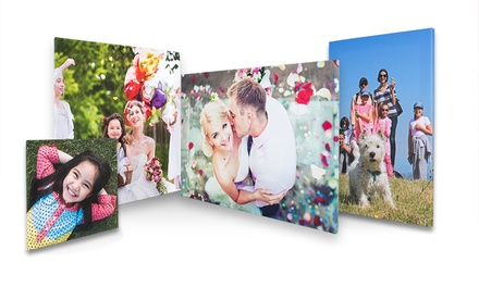 Choice of Personalised Photo Canvas Print from First for Photo (Up to 76% Off)