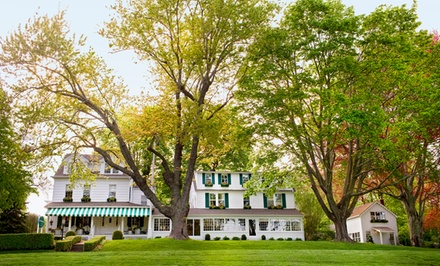 groupon daily deal - 1- or 2-Night Stay for Two with Dining Credit at c/o The Maidstone in East Hampton, NY