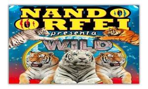 NANDORFEI: Circo NandOrfei con Wild - Lo spettacolo circense con animali feroci, dal 29 aprile a Busto Arsizio (sconto fino a 73%)