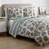 Shell Treasure Reversible Quilt Set (2- or 3-Piece)
