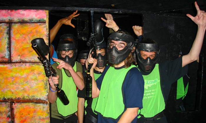 Tag Zone - Paintless Paintball - Lindenlea - New Edinburgh: Paintless Indoor Paintball with Equipment and Ammo for Two or Four at Tag Zone - Paintless Paintball (Up to 52% Off)
