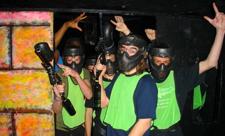Paintless Indoor Paintball with Equipment and Ammo for Two or Four at Tag Zone - Paintless Paintball (Up to 52% Off)