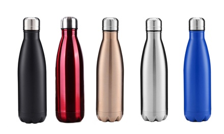 $29 for Two 500ml Stainless Steel Bottles Vacuum Water Bottles