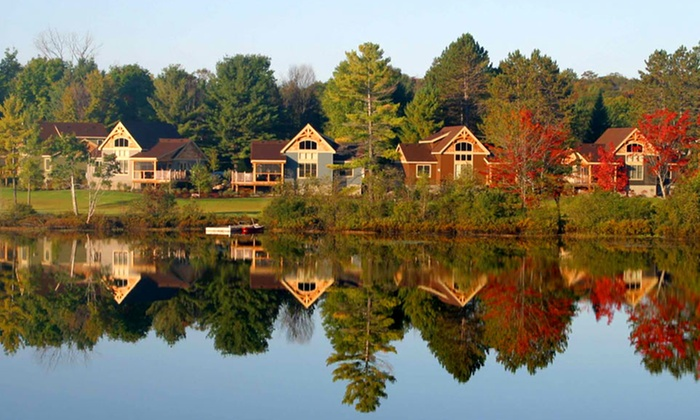 Cottages at Diamond in the Ruff - Muskoka, Ontario: 2- or 3-Night Stay for Up to Six at Cottages at Diamond in the Ruff in Muskoka, ON. Combine Multiple Nights.