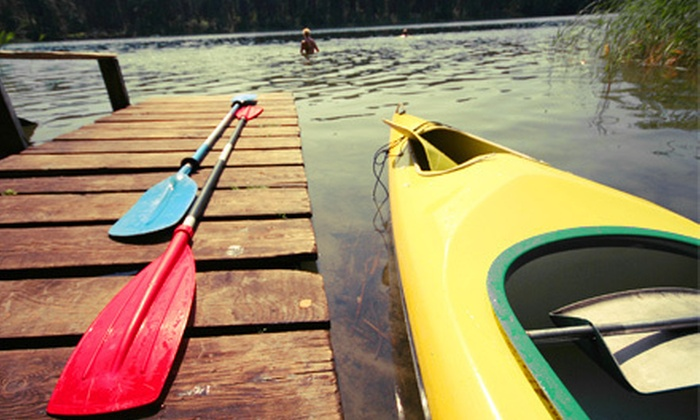CanoeSport Outfitters - CanoeSport Outfitters: Kayak or Standup-Paddleboard Rental or Paddleboard Clinic from CanoeSport Outfitters in Indianola (Up to 52% Off)