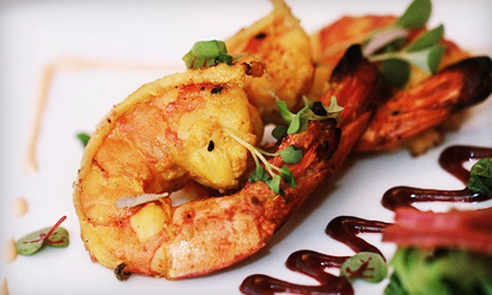 Naya Sunset & Naya Lounge - Silver Lake: Modern Indian Cuisine at Naya Sunset & Naya Lounge (Up to 53% Off). Two Options Available.