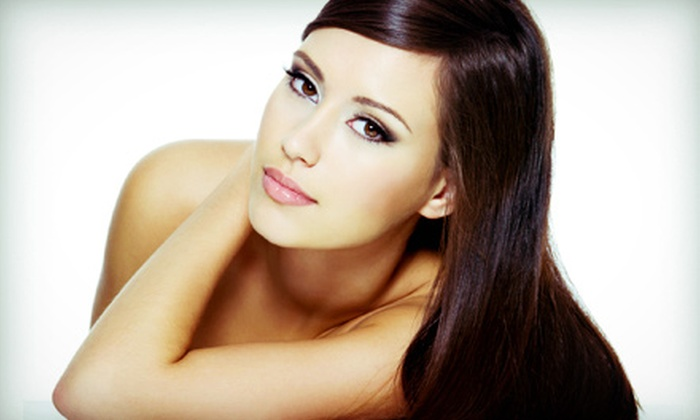 NYLA Hair Studio - Gateway Plaza: Brazilian Blowout with Optional Hair Services at NYLA Hair Studio (Up to 72% Off). Four Options Available.