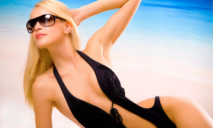 Tan The Moon - Union Square: Month of Unlimited UV Tanning in Level 1–2 or 3–4 Bed, or Three Spray Tans at Tan the Moon in Lakewood (Up to 74% Off)