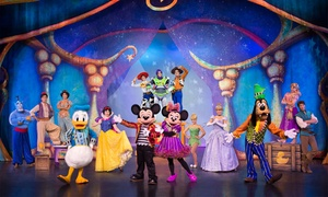 """Disney Live! Mickey and Minnie's Doorway to Magic"" Presented by Stonyfield YoKids Organic Yogurt: <i>Disney Live! Mickey and Minnie's Doorway to Magic</i> Presented by Stonyfield YoKids Organic Yogurt (Save Up to 27%)"