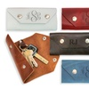 Personalized Leather Key Holder from Monogram Online