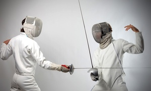 Peninsula Fencing Academy: Four or Eight Fencing Classes for Kids or Adults at Peninsula Fencing Academy (51% Off)