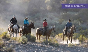 Star HB Farms: Horseback Trail Ride for One, Two, or Four or Trail Party for Up to 10 at Star HB Farms (Up to 51% Off)