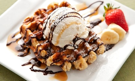 $6 for $10 Worth of Liege Waffles and Drinks from Waffles de Liege