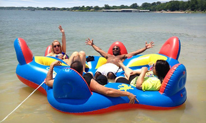 DFWJetskis - Garland: Tube Ride, Paddleboard Rentals for Two, or Lazy Lake Drift for Two from DFWJetskis (Up to 64% Off)