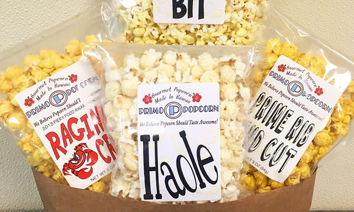 Primo Popcorn - Multiple Locations: House Specialty Variety Pack or Two Groupons, Each Good for $10 Worth of Popcorn at Primo Popcorn
