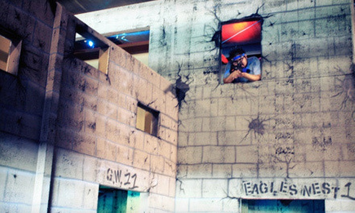 Battlefield Houston - Houston: Indoor Laser Tag for Two, Four, or Six, or Eight at Battlefield Houston (Half Off). Four Options Available.