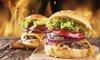 Gourmet-Burger, Beilage & Dessert