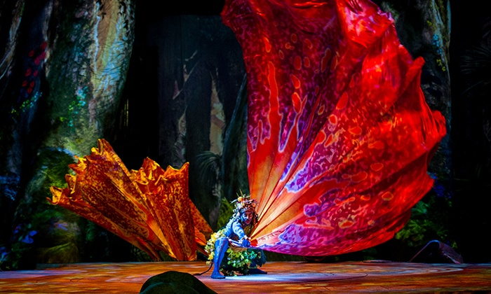 "Cirque du Soleil: ""Toruk"" - Toyota Center: Cirque du Soleil Presents ""TORUK – The First Flight"" (February 11–14)"